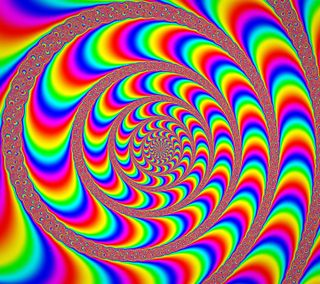 Обои на телефон цветные, фрактал, странные, спираль, психоделические, вращение