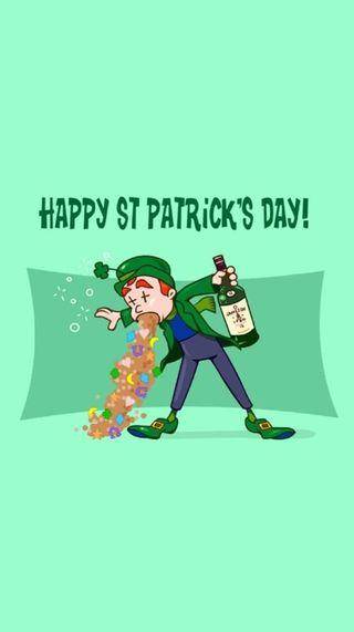 Обои на телефон ирландские, юмор, патрика, напиток, забавные, день, алкоголь, st