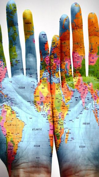 Обои на телефон карта, глобус, global