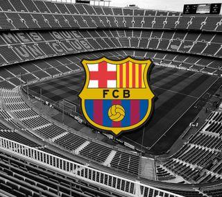 Обои на телефон футбольные, барса, футбол, месси, барселона, fcbarcelona, campnou
