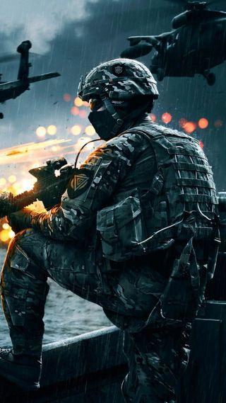 Обои на телефон игры, soldados, battlefield, nuevo, disparos, battlefield 4, armas