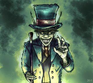 Обои на телефон тролль, кошмар, костюм, вечер, зеленые, дым, tophat, monster, good evening, goblin, cane