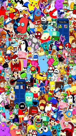 Обои на телефон сумасшедшие, символы, логотипы, игры, игра, аниме, game characters