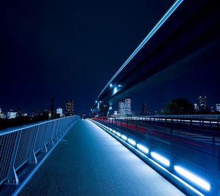 Обои на телефон токио, мост, tokyo bridge, 2160x1920
