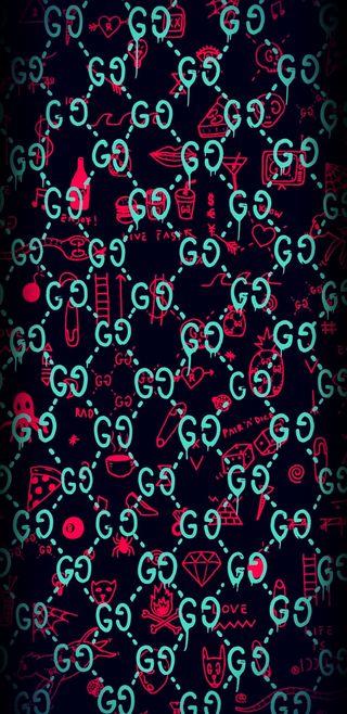 Обои на телефон черные, череп, розовые, неоновые, любовь, гуччи, банда, supreme, love, gucci gang supreme, gucci