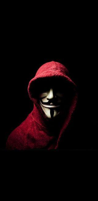 Обои на телефон хакер, маска, взлом, unknown man