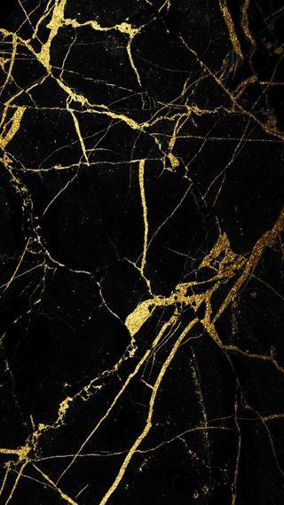 Обои на телефон мрамор, черные, сверкающие, золотые, marble affects, black and gold