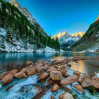 Обои на телефон winter lake, милые, приятные, прекрасные, зима, взгляд, озеро