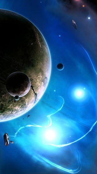Обои на телефон бой, синие, мир, космос, вселенная, внешний