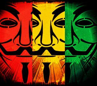 Обои на телефон раста, анонимус, rastafarian