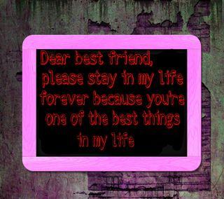 Обои на телефон дружба, цитата, лучшие, друг, dear best friend