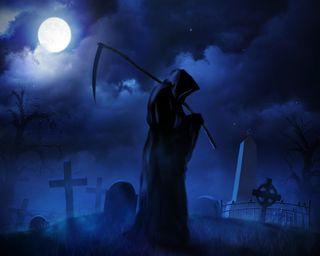 Обои на телефон готические, темные, облака, ночь, луна, крест, жнец, ангел, grave
