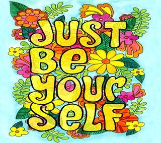 Обои на телефон себя, просто, будь, ytj, thth, just be yourself