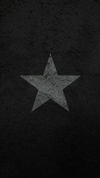 Обои на телефон звезда, черные, темные, простые, пентаграмма, дизайн, бетон