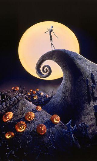 Обои на телефон великий, черные, хэллоуин, фильмы, фильм, ужасы, удивительные, тьма, тыква, темные, рождество, перед, луна, легенда, кошмар, король, классика, икона, джек, анимация, анимационные, pumpkin king, nightmare before, lanterns, jim burtons, jim burton, jim, jack o lanterns, burtons, burton, before christmas, 31st, 10-31