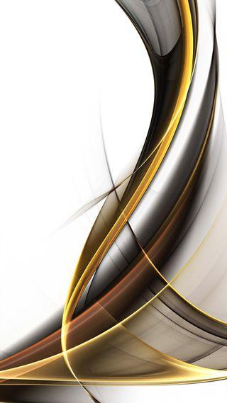 Обои на телефон серебряные, желтые, абстрактные, backround