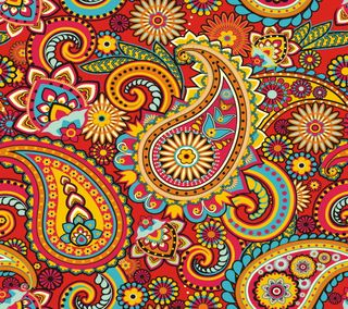 Обои на телефон микс, шаблон, цветочные, пейсли, красочные, дизайн, арт, абстрактные, art