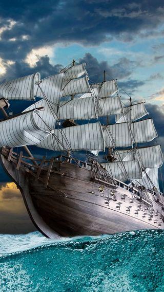 Обои на телефон корабли, природа, лодки, вода
