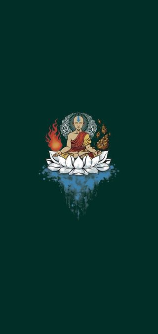 Обои на телефон йога, будда, минимализм, buddha minimal, 2019