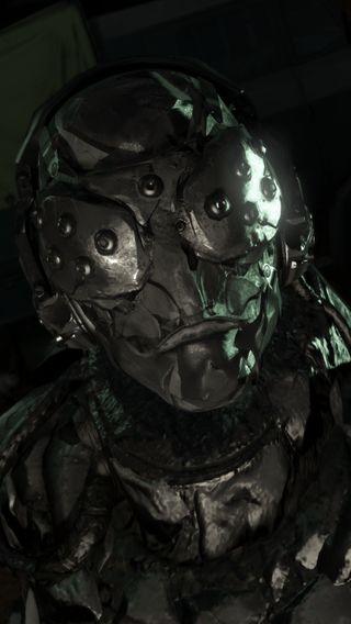 Обои на телефон механизм, череп, металл, боль, xof, solid, phantom, mgsv, mgs, armored skull