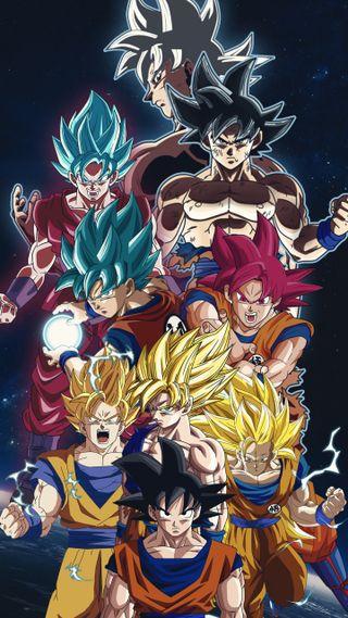 Обои на телефон сайян, супер, мяч, крутые, дракон, гоку, аниме, goku transformations, dragon