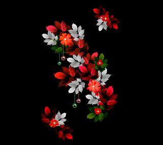 Обои на телефон цветы, листья, красые, дизайн