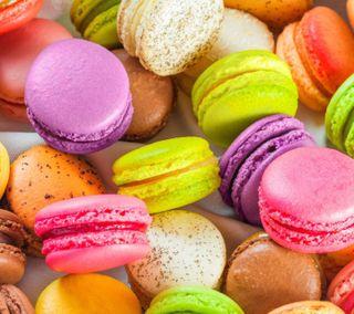 Обои на телефон яркие, французские, сладости, красочные, stunning, macaroon, french macaroon