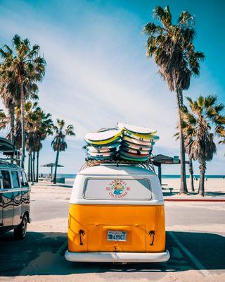 Обои на телефон фольксваген, сша, солнце, серфить, праздник, оранжевые, машины, лето, клуб, калифорния, volkswagen, usa