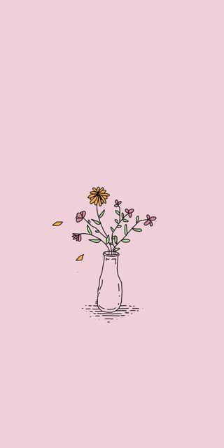 Обои на телефон эстетические, экран, цветы, счастливые, блокировка, happy, flower lock screen, aesthetically pleasing