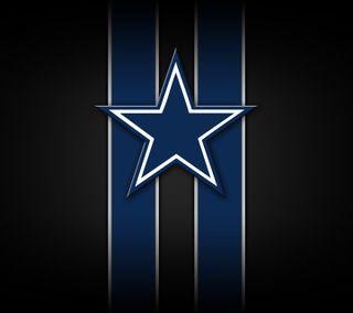 Обои на телефон cowboys, nfl, логотипы, футбол, даллас
