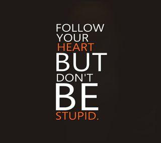 Обои на телефон правда, цитата, твой, сердце, приятные, отношение, одиночество, одинокий, жизнь, грустные, unknown, follow your heart