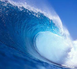 Обои на телефон океан, волны