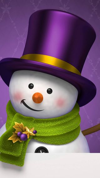 Обои на телефон картина, фиолетовые, снеговик, сезон, рождество, праздник, миньоны, милые, worlds, jojojo
