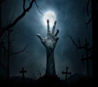 Обои на телефон зомби, zombieland, scared, land