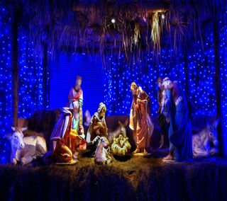 Обои на телефон ультра, сцена, господин, бог, son, nativity, hd