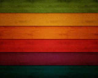 Обои на телефон отлично, радуга, природа, красочные, дерево, rainbow wood, planks