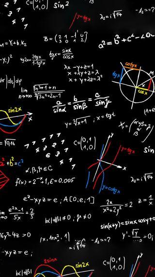 Обои на телефон экран блокировки, рисунки, наука, знаки, забавные, maths