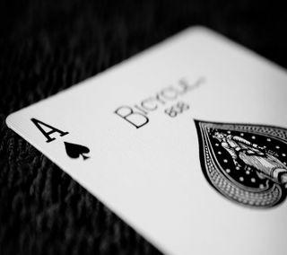 Обои на телефон туз, крутые, карты, playing, ace of spades