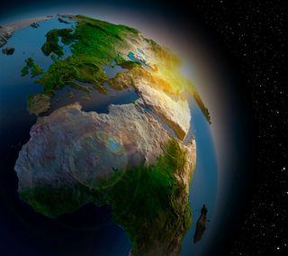 Обои на телефон планета, космос, земля, звезда, terrain, land