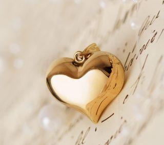 Обои на телефон бумага, сердце, любовь, золотые, винтаж, love
