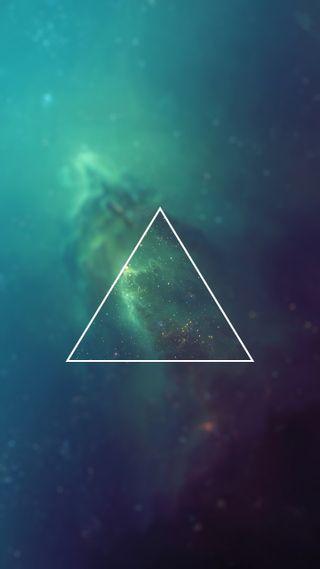 Обои на телефон звезды, галактика, galaxy, dreieck, 4k