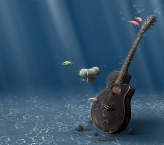 Обои на телефон гитара, музыка, hd, guitar music