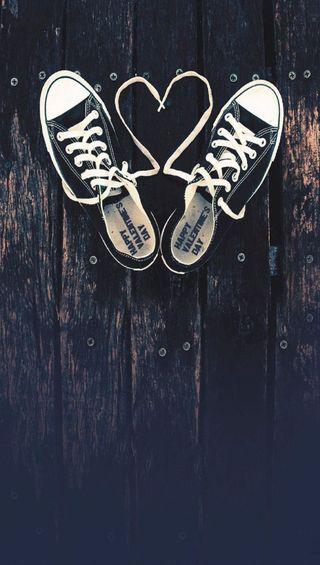 Обои на телефон обувь, сердце, любовь, love