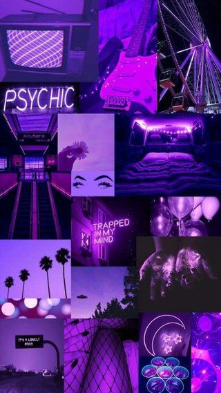 Обои на телефон фото, коллаж, эстетические, фиолетовые, темные, purple compilation