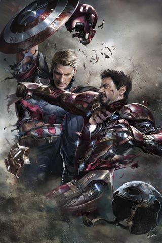 Обои на телефон старк, щит, тони, стив, против, марвел, капитан, железный, броня, rogers, marvel, man, captain vs iron man
