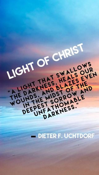 Обои на телефон тьма, христос, свет, мормон, библия, light of christ, lds