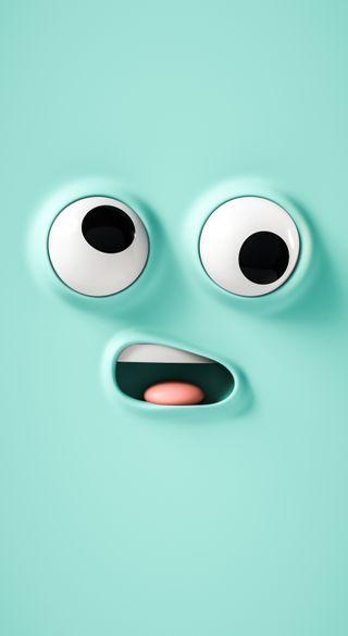 Обои на телефон синие, персонажи, мультфильмы, лицо, забавные, дизайн, айфон, абстрактные, pixel, iphone, funny silly face