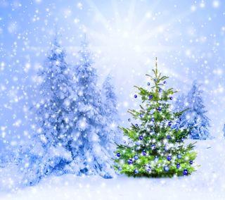 Обои на телефон солнечный свет, фон, сезон, рождество, зима, дерево, season winter tree