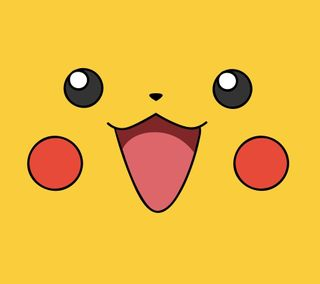Обои на телефон пикачу, смайлики, покемоны, милые, желтые, аниме