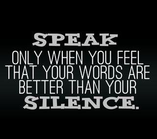 Обои на телефон тишина, цитата, слова, поговорка, новый, крутые, знаки, жизнь, speak